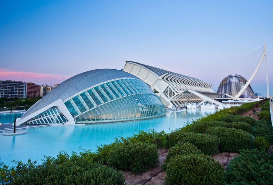 Visitez la Cité des Arts et des Sciences lors de votre événement à Valence